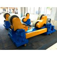 Quality 80 Ton PU Coated Conventional Welding Turning Rolls To Rotate Pressure Vessel for sale