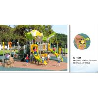 Quality Kids Outdoor Playsets Playground LLDPE Plastic Playground Amusement Park Children Play House Outdoor Equipment for sale