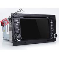 Quality Split Screen Audi A4  2 Din Car DVD Player With Bluetooth Android 7.1.1 OBD Support for sale