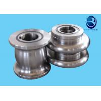 Erw Welded Pipe Making Machine Metal Forming Rollers With Cr12 / D3 Material