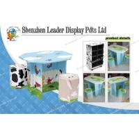 Buy cheap Table&Chairs Cardboard Display Stands with Recycled Material from wholesalers