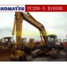 Buy cheap Used Komatsu PC200-5/Komatsu PC200-5 from wholesalers