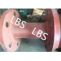 Quality 3000m Rope Capacity Wire Rope Winch Drum With Helix Groove , ABS GL Listed for sale