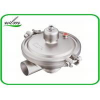 China Constant Pressure Regulating Sanitary Pressure Relief Valve With Butt Weld End DN15-DN100 on sale