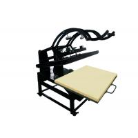 Even Pressure Sublimation Heat Transfer Press Machine For Flatbed Shirts