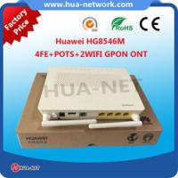 China 10g gpon ont Huawei GPON ONU Huawei GPON ONT HG8546M 4FE+POTS+WIFI Huawei HG8546M on sale