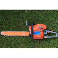 Quality Radiating Faster Gas Chainsaw Home Depot With Double Vent Muffler 7000rpm for sale