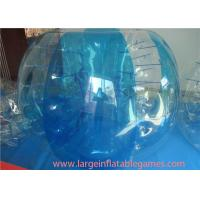 China Kids / Adults Inflatable Bubble Ball Great Workmanship For Soccer Ball on sale