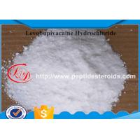 China Local Anesthetic Drugs Levobupivacaine HCl / Hydrochloride Good Stability 27262-48-2 on sale