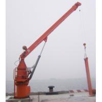 Quality Jib crane is liquid petrochemical wharf project, this fixed hydraulic explosion- proof crane 0.5T to 3T for sale