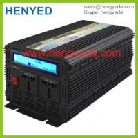 Quality Dc to ac solar system 2000w power inverter 12v to 220v LCD display for sale