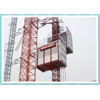 Quality CE Material Hoisting Equipment , Passenger And Material Hoist Used In Building / Construction for sale