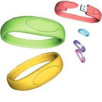 Quality wristband usb drives with 512mb 1g 2g 4g 8g 16g with original chip for sale