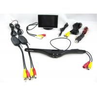 Quality Wireless Transmission Wireless Rearview Camera System With 3.5 Inch Monitor And 4 LED Camera for sale