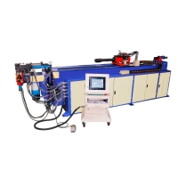 Quality 5.5kw Hydraulic Mandrel Pipe Bending Machine Stainless Steel PLC Control for sale