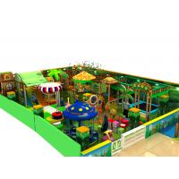 Quality Amusement Parks Kids Playground Equipment Green Leisure Naughty Castle for sale