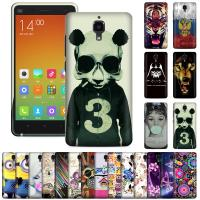 Cheap XiaoMi Mi4 silicone material durable cool cell phone cases with photo designs for sale