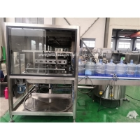 Quality Turnkey 5 Gallon Water Bottling Machine With Decapper for sale