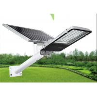 Quality 50W Led Solar Powered Street Light SMD with Remote Control Polysilicon Solar Panel for sale