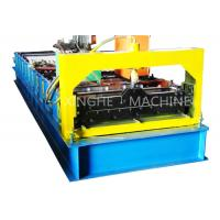 China PCL Control Roofing Sheet Roll Forming Machine With Plate Bending Machine  on sale