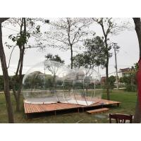 Quality Hotel Clear Inflatable Bubble Tent , Outdoor Inflatable Transparent Tent For Camping for sale