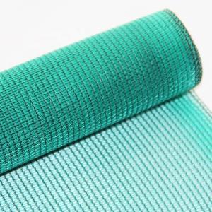 Quality Sunscreen Breathable PVC Mesh Fabric , Custom Length Mesh Netting Fabric for sale