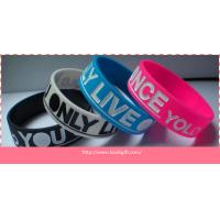 Craft type wholesale cheap custom Silicon Wristbands