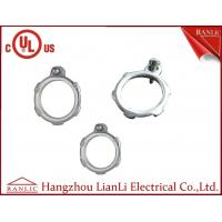 """Quality Steel Conduit Locknut EMT Conduit Fittings With Terminal Electro Glanvized 1/2"""" to 4"""" for sale"""