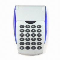Quality Promotional Calculator with Plastic Cover, with Eight-digit LCD Display for sale