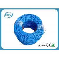 Quality 100% Bare Copper Cat5e Lan Cable UTP 4 Pairs Twisted Communication Network PVC Sheath for sale