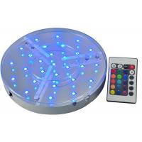 Best Battery Operated Led Light Bases For Vases / Wedding Table , IP54 Led Bulb Bases wholesale