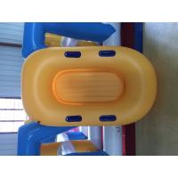 Best Yellow Inflatable Lifeboat Enhanced Strong PVC Lightweight Inflatable Boat wholesale