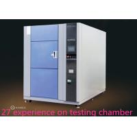 Quality 3 Zones High Low Ambient Temp Thermal Shock Test Chamber  For Metal / Plastic for sale
