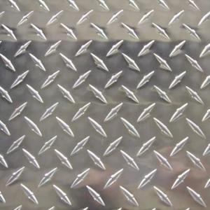 Quality 3mm 6mm Aluminium Checker Plate 0.25 aluminum diamond plate 4x8 sheet for sale