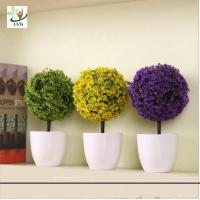 Quality UVG GP001 Decorative Grass in Pot Plants Ornaments Wedding Decoration Table Centerpiece for sale