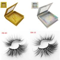 Quality High Quality Own Brand Private Label 100% Real Mink Lashes 3d Mink Eyelashes for sale