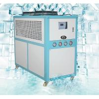 Quality Small Water Cooled Industrial Chillers , 30 Ton Air Cooled Chiller  Digital Temperature Controller for sale