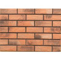 Quality 3DWN02 Solid exterior veneer brick wall wear resistance for house building design for sale