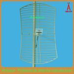Quality 2.4GHZ 24dbi Grid Parabolic antenna WLAN wifi antenna for sale