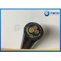 China PVC Sheath Copper Power Cable 3 x 185 sqmm 3 x 95 sqmm Corrosion Resistance on sale