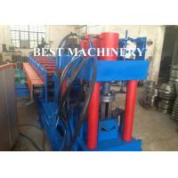 Quality Metal Building Palisade Fence Panel Post Roll Forming Machine Protective Guard for sale