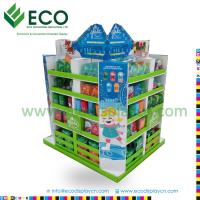 Best Point of Purchase Tanning Lotion Display Racks, Cardboard Pallet Display wholesale