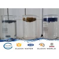 Quality Paint dust flocculant for Spraying sewage treatment Clear liquid with light blue A B agent for sale