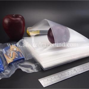 Best Food Grade Custom high quality low price Textured/Embossed Vacuum Bag roll, Food Packaging wholesale