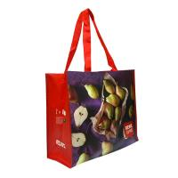 Quality Eco Handmade Non Woven Shopping Tote Laminated Grocery Bags For Women for sale