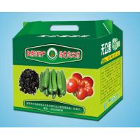 Quality Recycled Cardboard Fruit Packing Boxes For Supermarket , Custom Printed Logo for sale
