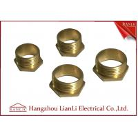 Quality 20mm 25mm Brass Male Bush Short & Long For Gi Conduit Thread BS4568 for sale
