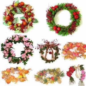 Holiday Wreath,Seasonal Decoration