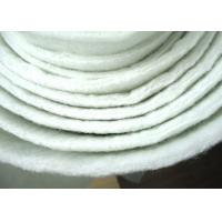 Non Woven Micron Filter Cloth Polyester Filter Media Anti Acid ISO