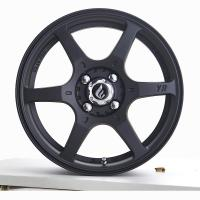 16x7J Flow Form Wheels Matte Black Painted Rims Light Weight for Honda Fit